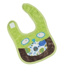 Bennett the Owl Bib