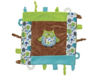 Bennett the Owl Multifunction Blankie