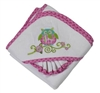 Bella Owl Infant Hooded Towel Set
