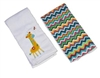 Jonathan Giraffe Double Burp Cloth Gift Set