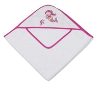 Sandy the Mermaid Infant Hooded Towel Gift Set