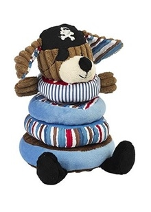 Patch the Pirate Dog Stacking Toy