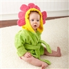 Flower Hooded Spa Robe