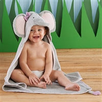 Elephant Spa Hooded Towel