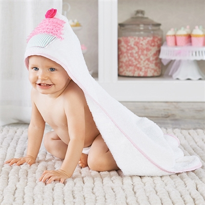 Baby Cakes Hooded Spa Towel