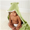 Crocodile Hooded Spa Towel