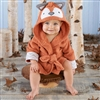 Rub-a-dub,  Fox in the Tub Hooded Spa Robe