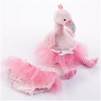 Plush Flamingo & Bloomer for Baby