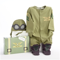 Baby Pilot Two-Piece Layette Set