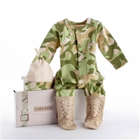 Baby Camo Two-Piece Layette Set