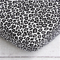 Aqua Leopard Baby Bedding Changing Pad
