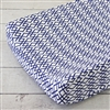Aqua and Navy Mod Mix Baby Bedding Changing Pad