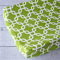 Bright Baby Green Baby Bedding Changing Pad