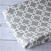 Bright Baby Gray Baby Bedding Changing Pad