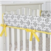 Bright Baby Gray Baby Bedding Crib Rail