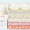 Buttercup in Bright Pastels Baby Bedding Crib Rail