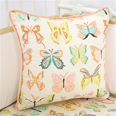 Buttercup in Bright Pastels Baby Bedding Pillow