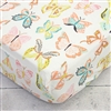 Buttercup in Bright Pastels Baby Bedding Sheet