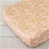 Coral & Gold Sparkle Baby Bedding Changing Pad