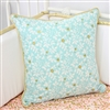 Coral & Gold Sparkle Baby Bedding Pillow