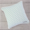 Coral & Mint Arrow Mint Triangles Baby Bedding Pillow
