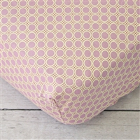Purple Paisley Baby Bedding Changing Pad