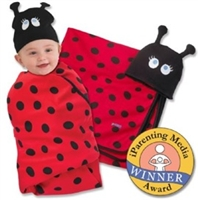 Snuggle Bug Swaddle Blanket & Cap Set