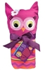Owl Swaddle Blanket & Cap Set