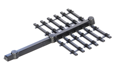 Plain Line Moulded Track Bases Only (no rail)
