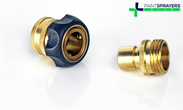 Fuji HVLP Hose to Turbine Quick Connect Fittings