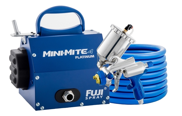 Fuji Mini-Mite 4 Platinum Gravity G-XPC Hvlp Paint Sprayer System