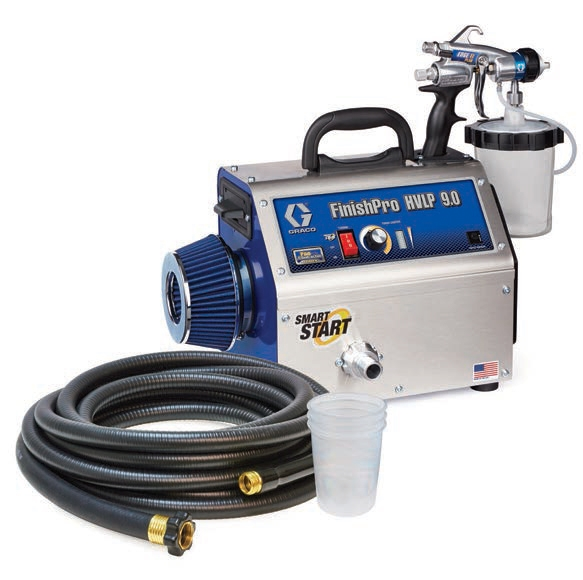 Graco FinishPro HVLP 9.0 ProContractor Series Turbine Paint Sprayer