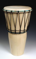 "Everyone's Drumming Large Ashiko - Hardwood (13""x24"")"