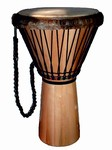 "Everyone's Drumming Large Djembe - Hardwood (14.5""x26"")"
