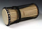 "Large Talking  Drum - Hardwood (7.5""x18"")"