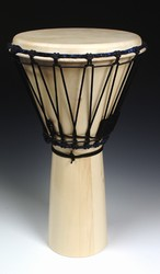 "Everyone's Drumming Small Djembe - Aspen (11""x20"")"
