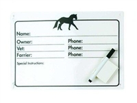Best discount prices on horse info stall plaque