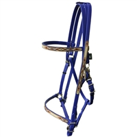 Navajo Designed Full Halter Bridle with Add On Headstall