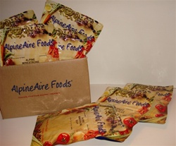 SamplerPack - GLUTEN FREE AlpineAire Foods Veges, Soups & Breakfasts Case of 12