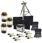 Goal Zero Yeti 1250 Solar Generator Power Pack w/Roll Cart Kit