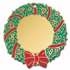 Engraved Wreath Ornament