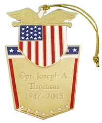 Veterans Ornament