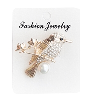 BROB4081-14 Bird Brooch