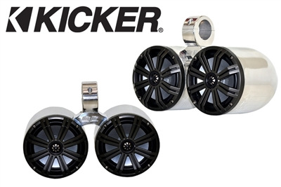 "Big Air 6.5"" Kicker Twin Bullet Speakers"