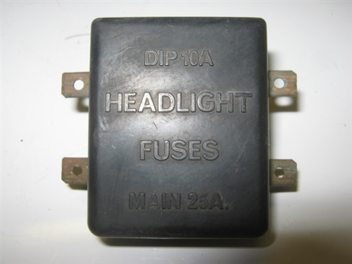 Jaguar XJ6 XJ12 XJS Headlight Fuse Box C39352 – Jaguar Xj6 Fuse Box