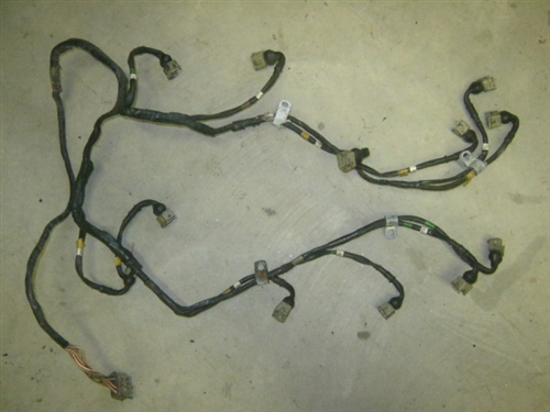 Xj12 And Xjs Fuel Injector Wiring Harness Jaguar Part