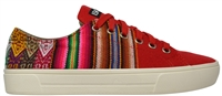 NEW SINCHI-RO2 Low Top Red