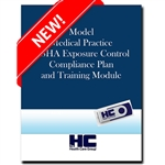 Model Medical Practice OSHA Exposure Control Compliance Plan & Training