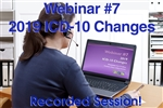 Dermatology Webinar - 2019 ICD-10 Changes Webinar
