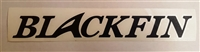 "Decal - 13"" BLACKFIN"
